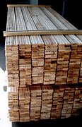 Stack of Flooring Material